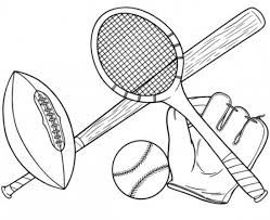 Small Picture 20 Free Printable Sports Coloring Pages EverFreeColoringcom