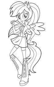 Small Picture My Little Pony Equestria Girls Coloring Pages Equestria girls