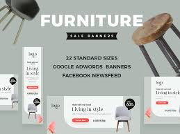 Furniture sale advertisement Local Furniture Sale Banners Ecommerce Online Shop Clean Offer Discount Wood Chair Shop Advertisement Ad Banner Ad Dribbble Furniture Sale Banners By Webduckdesign Dribbble Dribbble