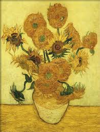 art of vincent van gogh sunflower series hand painted oil painting reion irises in vase for