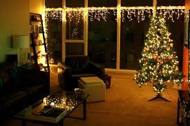 Xmas Living Room Decor Christmas Living Room Decor White Ceilings White Table Lamp White