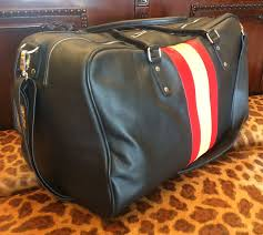 travel custom bag leather1
