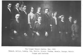 TORGER AND GERTRUDE NELSON Their