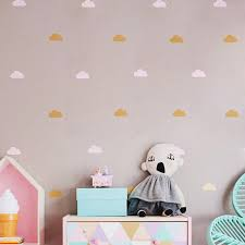decorative stickers cloud wall stickers
