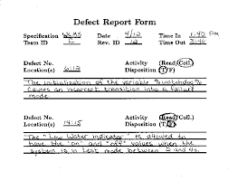 Reviewer Fault Report Form. This is a small sample of the fault report... |  Download Scientific Diagram