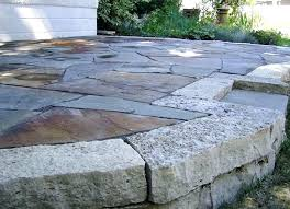good cost of flagstone patio or how 23 cost of installing flagstone patio