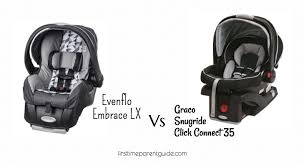 the evenflo embrace lx vs graco snugride