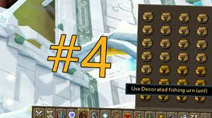 How To Make Decorated Fishing Urn RuneScape Money Making 60 Making Decorated Fishing Urns YouTube 2