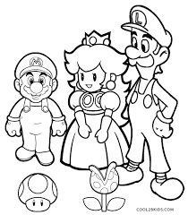 For more info on mario bros go here. Mario Coloring Pages Coloring Rocks