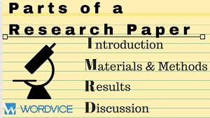 In scientific writing, imrad or imrad (/ˈɪmræd/) (introduction, methods, results, and discussion) is a common organizational structure (a document format). Imrd The Parts Of A Research Paper Youtube