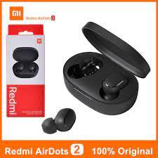 Tai nghe Bluetooth True Wireless Redmi Airdots 2 chính hãng XIAOMI bảng  Quốc Tế - Tai nghe Bluetooth nhét Tai