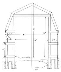 free shed plans for a drive thru backyard shed
