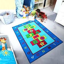play rugs girls boys hopscotch bedroom playroom floor mat carpets kids 3d rug uk