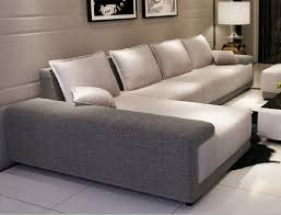 modern sofas for living room. Modern L Shaped Couch Best Sectional Sofa Beige With Cushions Lamp Art Picture Sofas For Living Room