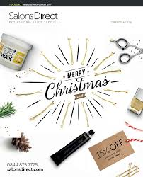 Christmas Mini Catalogue 2016 by Salons Direct - issuu