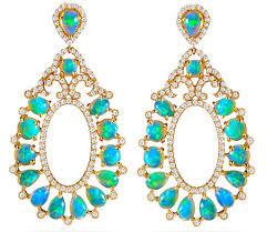 hari jewels opal drop earrings jck on your market