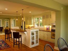 White Wall Mounted Oak Woods Painted Kitchen Color Trends Black Unique  Pendant Lamps Solid Brown ...