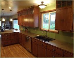 Mission Style Kitchen Lighting Ultimate Mission Style Kitchen Cabinets Within Kitchen Shaker