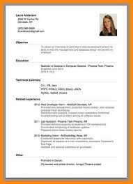 produce resumes 9 10 cv samples for internship jadegardenwi com