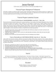 Resume Examples For Finance Resume Example Finance Executive Data