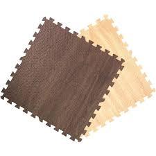 interlocking foam floor mats. Exellent Foam Get Rung Wood Grain Interlocking Foam Puzzle Tile Floor Mats On S