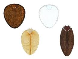 ceiling fan natural blade set bamboo palm tree rattan fans australia a
