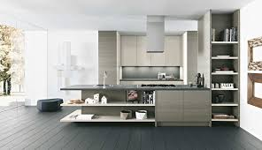 Modern Kitchen Idea Inspiring Kitchen Design For Modern Apartment Ideas With Red Color