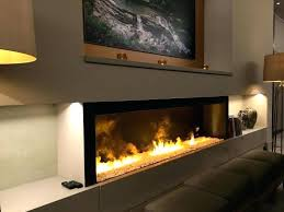 tall electric fireplace narrow white
