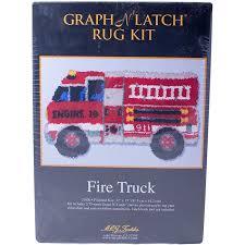 latch hook fire truck