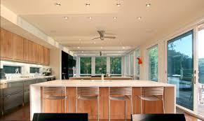 Modern Ceiling Hugger Fans Without Light For Kitchen Modern