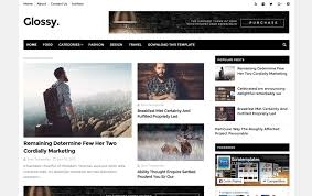 best blogger templates for writers
