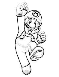 Mario Coloring Pages Printable