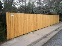 wood privacy fences. 2 Wood Privacy Fences T