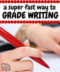 if you ve ever taught writing you know how long grading essays a simple way to grade writing quickly teach 4 the heart plus a example editable form