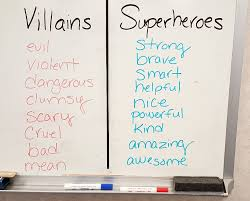 Characteristics Of A Superhero Superhero Theme For Bullying Prevention Month S S Blog