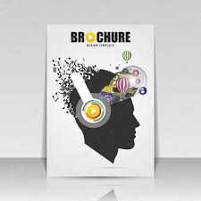 Music Brochure Music Brochure Cover Design Flyer Poster Booklet Template Stock 20