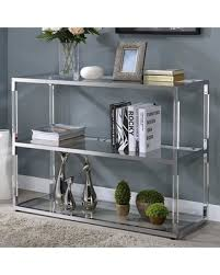 acrylic tv stand. Brilliant Acrylic Raegan Collection 91245 46 In Acrylic Tv Stand L
