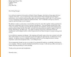 Project Manager Cover Letter Template Uk Good Examples
