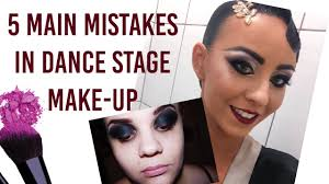 5 main mistakes in ballroom dance makeup tips for dancers