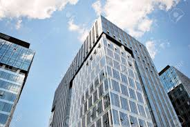 modern office building. Modern Building.Modern Office Building With Facade Of Glass Stock Photo - 81355660 M