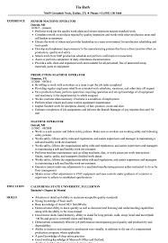 Machine Operator Resume Sample machine operator resume Ozilalmanoofco 19