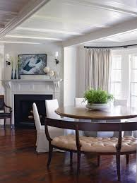 in a southton n y dining room interior designer ray booth encircled a pedestal