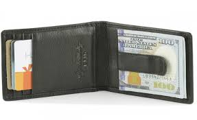 wallets with money clips inside