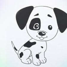 Small Picture Drawn puppy easy kid Pencil and in color drawn puppy easy kid