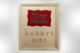 daddys girl cream frame