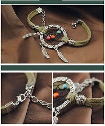 Dream Catcher Charm Bracelet Inspiration DREAM CATCHER CHARM Bracelet Handmade Jewelry 3232 PicClick