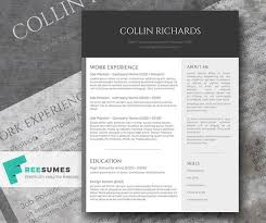 Free Modern Resume Templates Simple Free Modern Resume Template For Word Funfpandroidco