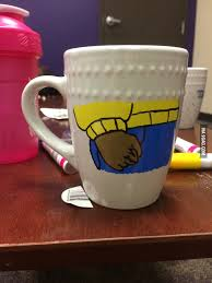when you re painting your mug and everyone says that the meme is old