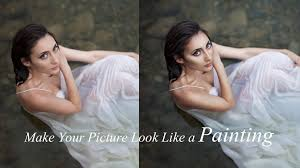how to make your pictures look like a painting photo tutorial you