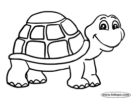 Small Picture the turtle coloring page